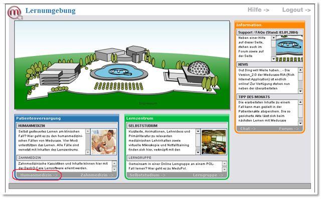 Meducase Portal